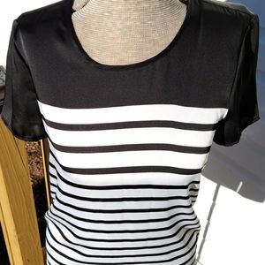 Michael Kors Short Sleeved Striped Shirt